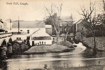 BACK FALL COAGH CO. TYRONE IRELAND IRISH POSTCARD by GLASGOW'S of COOKSTOWN