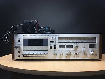 SONY HST-89 Stereo Cassette Receiver. Made In Japan. 99p NR