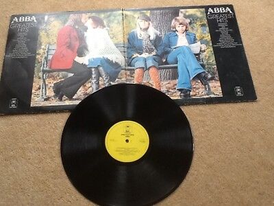 "ABBA ‎– Greatest Hits LP Album 12"" Vinyl Record"