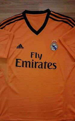 Real Madrid 2013/14 Away Football Shirt (Unofficial Fan Style)
