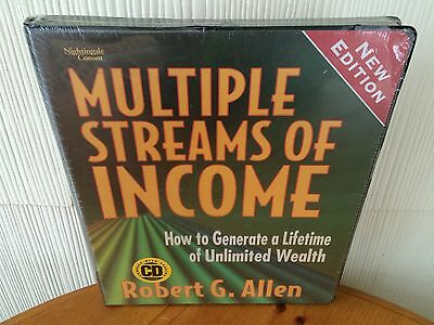 Multiple Streams of Income by Robert Allen - New Edition CD Wealth Package! NEW!
