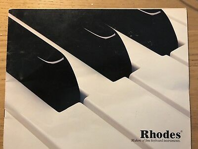 Rhodes Original Brochure