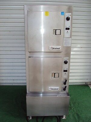 """Cleveland 24Cga10.2 Gas Convection Steamer  With H20 Filter System """"nice"""""""