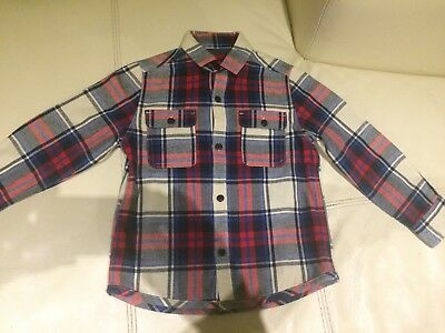 Boys Next Checked Shirt - Age 4 years