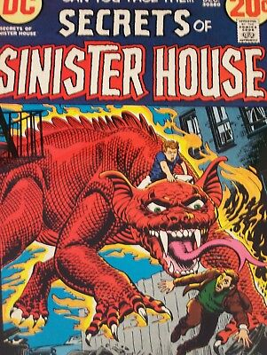 Secrets of Sinister House #8 (Dec 1972, DC) Issues 8 11 12 18