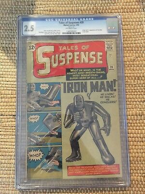 Tales of Suspense #39 CGC 2.5 1st Appearance of Iron Man