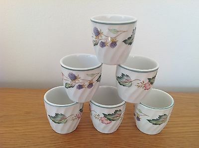 BHS Victoria Rose Egg Cups x 6.