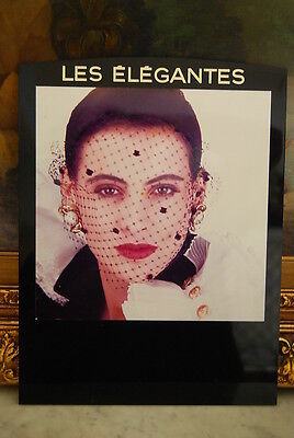Rare Vintage Chanel Store Advertising Display Model Picture On Black Plastic #7