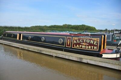 Lovely 62' Semi Trad Narrowboat - Alcyone