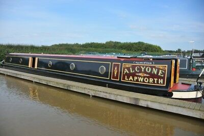 NEW PRICE - Lovely 62' Semi Trad Narrowboat - Alcyone