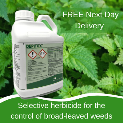 Depitox Selective Weed Weeds Killer 5 L Great At Controlling Ragwort