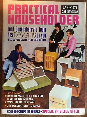 Practical Householder magazine - 53 issues from 1971, 1972, 1973, 1974 and 1975