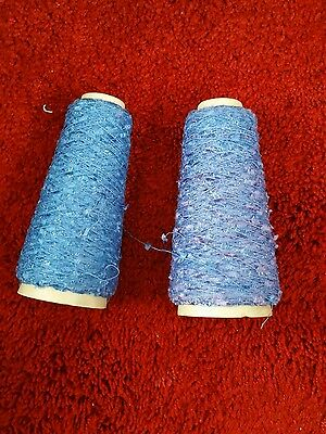 2 sml cones yeoman butterfly yarn please see description and photos