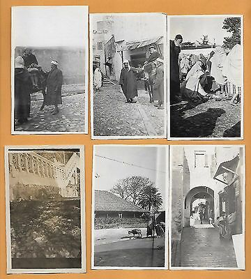 C.1928 MOROCCO 36 Real Old Photos + descriptions Tangier + Marrakech + Meknes +