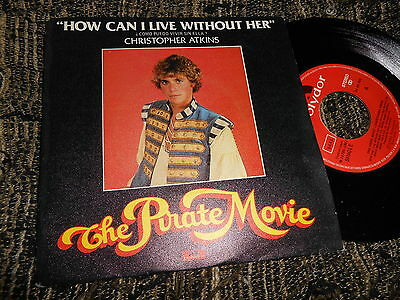 """THE PRIVATE MOVIE BSO OST Christopher Atkins How Can I live.. +1 7"""" 1982 SPAIN"""