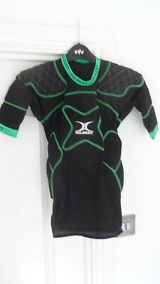 gilbert rugby padded baselayer top LB large boys