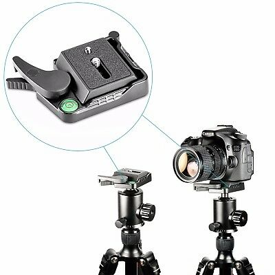 Neewer Quick Release QR Plate Adapter for DSLR Camera Tripod Monopod Stabilizer