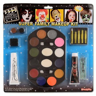 Special Effects Halloween Theater Makeup Face Body Paint Kit Set Zombie Vampire