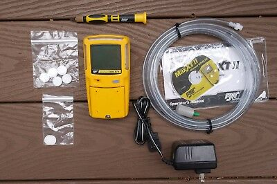 BW Technologies Gas Alert Max XT-II Gas Detector, Calibrated.