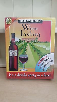 Host Your Own Wine Tasting DVD Game - NEW