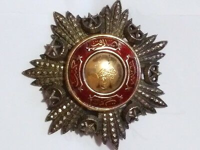 Turkish Ottoman Order Of The Medjidie Mecidiye Nisani Turkey
