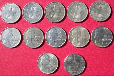 Caribbean Coins All pesos Wounderfull!!!! Circulate