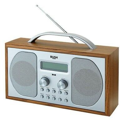Bush Wooden DAB Radio (B+ Pls Read Description) + 90 Days WARRANTY