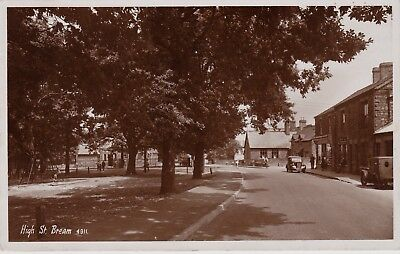 RP High Street, Bream, Forest of Dean, Glos., posted Lydney 1952
