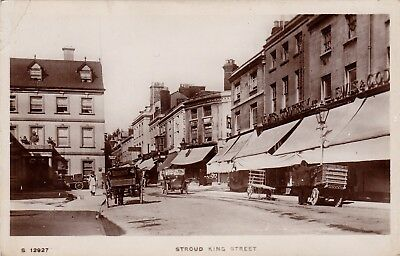 RP Shops in King Street, Stroud, Glos., c1910