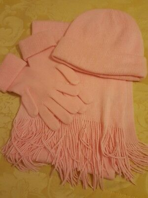 Hat scarf and glove set. brand new
