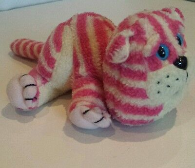 "Bagpuss the Cat 8"" Beanie Plush Soft Toy 1999 Vintage"