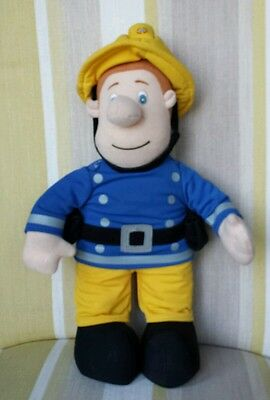 "Fireman Sam from Postman Pat Singing 14"" plush soft toy"