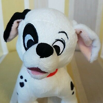 """Patch Dalmation from 101 102 Dalmations 7"""" lg Plush Soft Toy by Disney Store New"""