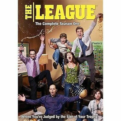 The League: The Complete First Season (DVD, 2010, 2-Disc Set) brand new sealed