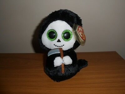 Ty Beanie Boos Boo Grimm the Halloween Ghost from 2015