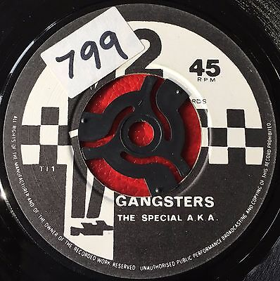 THE SPECIAL A.K.A. - GANGSTERS  b/w  THE SELECTER - THE SELECTER  (1979)