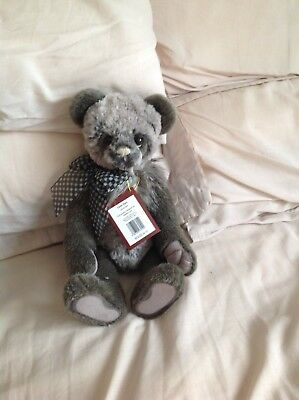 CLOTH EARS by Charlie Bears - with all tags and in fab condition