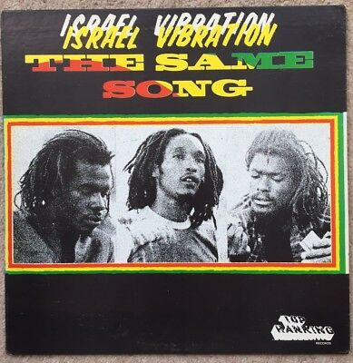 Israel Vibration - The Same Song. 1978 U.s. Top Ranking Reggae Lp. Vg