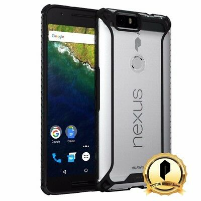 POETIC For Huawei Nexus 6P [Affinity] Dual material Protective Bumper Case Black