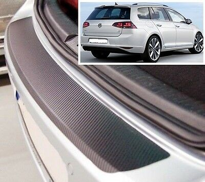 VW Golf MK7 Estate - Carbon Style rear Bumper Protector