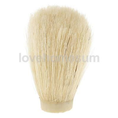 Mens Beard Removal Wet Shave for Shaving Brush Replacement Knot Barber Tool