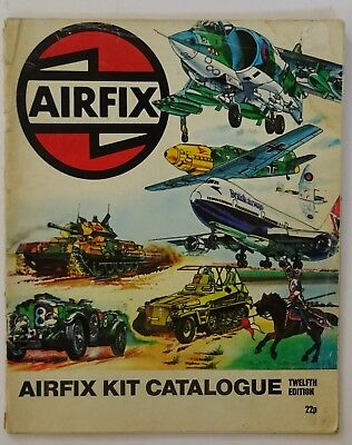 Airfix Catalogue  12Th  Edition (1975)