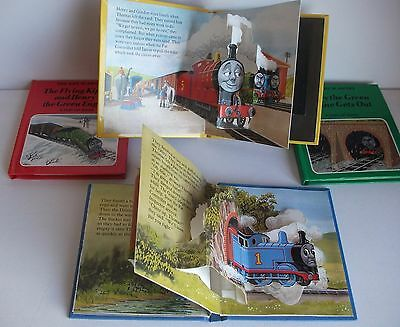 Thomas The Tank Engine pop-up library 4 book set
