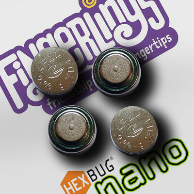 4x LR44 AG13 Replacement Batteries for Fingerlings Hexbug Nano Ships from Canada