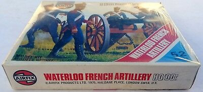 AIRFIX WATERLOO FRENCH  ARTILLERY 1975 Sealed