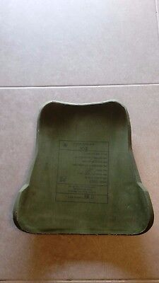 Idf Millitry Grade Bulletproof Backside Ceramic Plate V-3