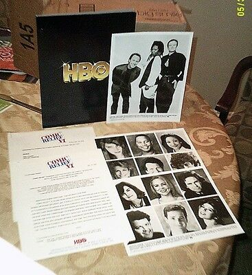 COMIC RELIEF 6 - 1994 HBO Press Kit- BILLY CRYSTAL, ROBIN WILLIAMS, WHOOPI -Mint