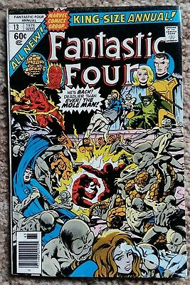 Marvel Comics - Fantastic Four - King-Size Annual #13 - Bronze Age