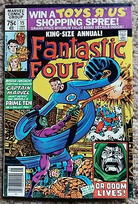 Marvel Comics - Fantastic Four - King-Size Annual #15 - Bronze Age
