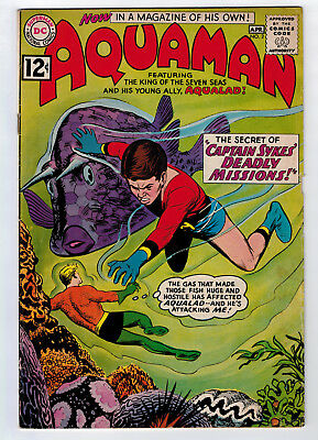 Aquaman #2 4.0 1962 Off-White Pages